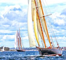 Taught Ropes And Full Sails by JoeGeraci