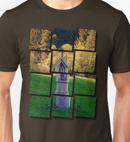 Holy Mary wayside cross | cultural heritage Unisex T-Shirt