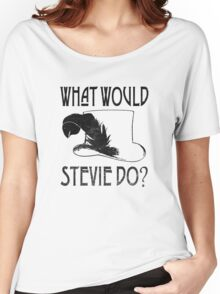 WHAT WOULD STEVIE NICKS DO - VINTAGE Women's Relaxed Fit T-Shirt