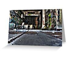 Graffiti Room Greeting Card