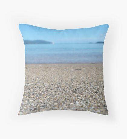 Sand + Sea Throw Pillow