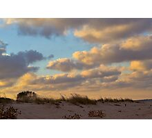 The Sunset Dune Photographic Print