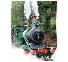 Wilderness Train at Strahan  -Tasmania Poster