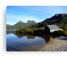Old boat shed in Cradle Mountain  -Tasmania Canvas Print