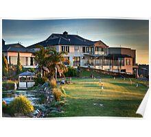 McCracken Resort at Sunset Poster