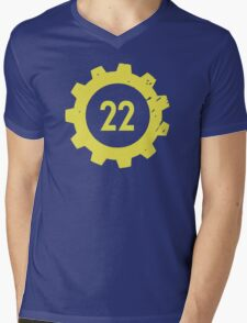Vault 22 Mens V-Neck T-Shirt