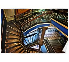 Yes, QVB stairs that I'm appreciate...:Got EXPLORE Featured Work, 6 Featured works Poster