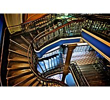 Yes, QVB stairs that I'm appreciate...:Got EXPLORE Featured Work, 6 Featured works Photographic Print
