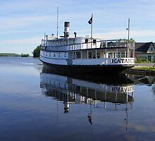 Steamboat Katahdin by MaryinMaine
