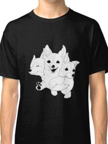 Corgerberus  Classic T-Shirt