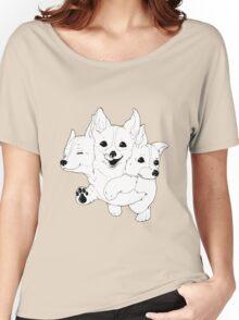 Corgerberus  Women's Relaxed Fit T-Shirt