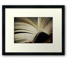 fiction Framed Print