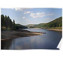 Derwent Reservoir in the Peak District Poster