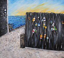 Buoys - Cape Cod (2)  by Kimberly  Daigle