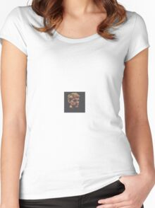 VECTOR PORTRAIT Women's Fitted Scoop T-Shirt