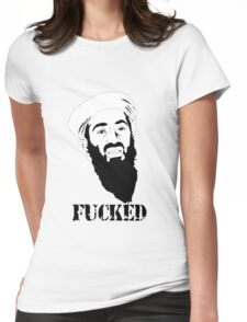 osama bin laden Womens Fitted T-Shirt