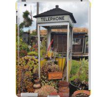 Telephone Booth Garden iPad Case/Skin