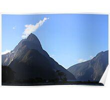 Mitre Peak - Milford Sound Poster