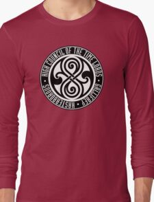 Doctor Who - High Council of the Time Lords - Gallifrey Long Sleeve T-Shirt