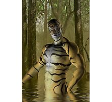 Tiger Warrior Photographic Print