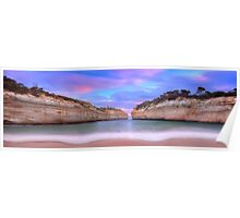Loch Ard Gorge Panorama Poster