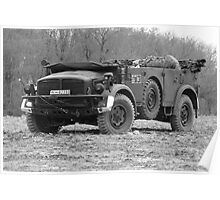 Horch 108 Type 40 Troop Carrier Poster