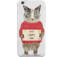 who's grumpy iPhone Case/Skin