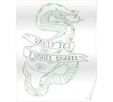 tunnel snakes v2 Poster