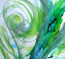Abstract painting by francelal