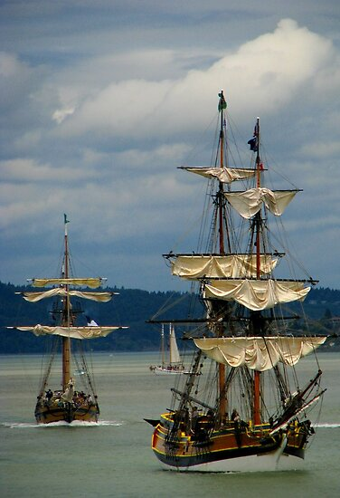 Tall ships festival by Tracy Friesen