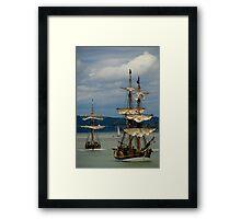 Tall ships festival Framed Print