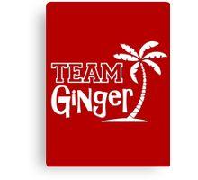 TEAM - Ginger Canvas Print