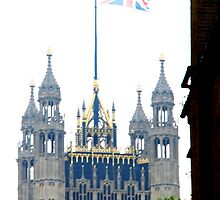 Parliament on the Royal wedding day of Prince William & Kate by Penny V-P