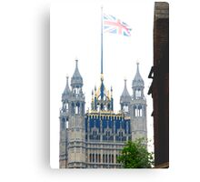 Parliament on the Royal wedding day of Prince William & Kate Metal Print
