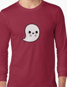 Cute spooky ghost Long Sleeve T-Shirt