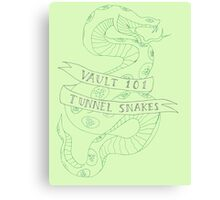 tunnel snakes [back of shirt variant] Canvas Print