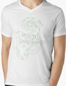 tunnel snakes v2 Mens V-Neck T-Shirt