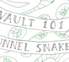 tunnel snakes v2 Sticker