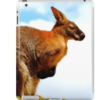 Wallaby from Below iPad Case/Skin