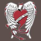 i love heart by tshart