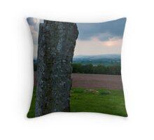 Keillor Symbol Stone Throw Pillow