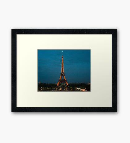 Iconic Landmark Framed Print