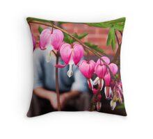 The Gardener Heart. Throw Pillow