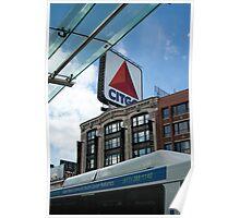 A Boston Landmark Poster