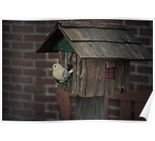 a robin's nesting place Poster