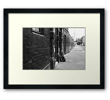 THE LOCATION OF 'URBAN BEAUTY' 2011 Framed Print