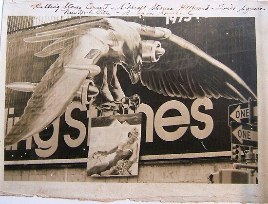 STONES '73 WORLD TOUR by Barbara Sparhawk