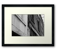 THE LOCATION OF 'THE COMMANDMENT' 2011 Framed Print
