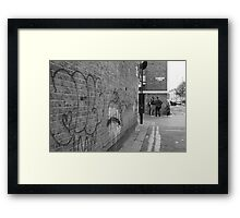 THE LOCATION OF 'THE LEADERS OF THE REVOLUTION' 2011 Framed Print