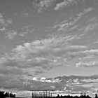 Nice Big Black And White Sky by Andrew Lapierre